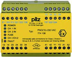 Device for monitoring of safety-related circuits Pilz PNOZ EX 230VAC 774108