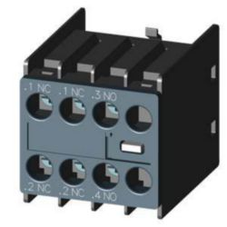 Auxiliary contact block Siemens 3RH2911-1HA12 3RH29111HA12