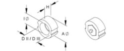 D-system ring adapter Niedax Kleinhuis 525011 525011