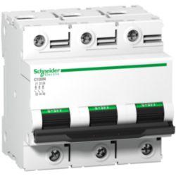 Miniature circuit breaker (MCB) Schneider Electric C120N 3P C80A A9N18365