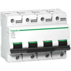 Miniature circuit breaker (MCB) Schneider Electric C120N 4P C125A A9N18376