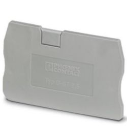 Endplate and partition plate for terminal block Phoenix D-ST 2,5 3030417