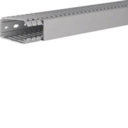 BA7, bedradingskanaal + deksel 80x40 mm, grijs