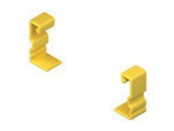 End cap/cover for support/profile rail Niedax Kleinhuis 125710 125710