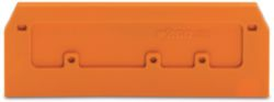 End and intermediate plate 2.5 mm, orang