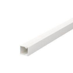 Wand- und Deckenkanal mit Bodenlochung 15x15x2000, PVC, reinweiß, RAL 9010