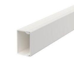 Wand- und Deckenkanal mit Bodenlochung 25x40x2000, PVC, reinweiß, RAL 9010
