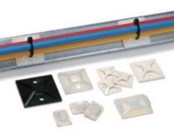 Klebesockel 28x28 mm, weiß