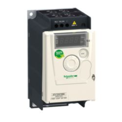 Frequenzumrichter ATV12, 0,37kW, 0,55HP, 200-240V, 1-ph., m. Kühlkörper