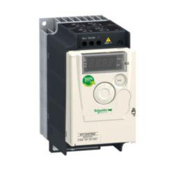 Frequenzumrichter ATV12, 0,75kW, 1HP, 200-240V, 1-ph., m. Kühlkörper
