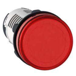 Leuchtmelder, rund Ø 22, rot, Integral LED, 230-240V, Schraubklemmen