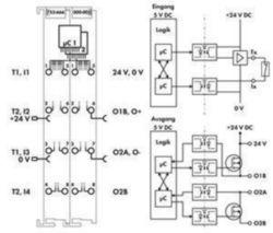 Fieldbus, decentr. periphery - digital I/O module Wago 753-666/000-003
