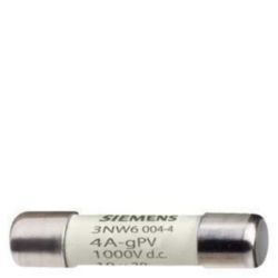 Cylindrical fuse Siemens 3NW6004-4 3NW60044