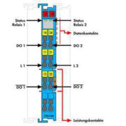 Fieldbus, decentr. periphery - digital I/O module Wago 750-538 750-538