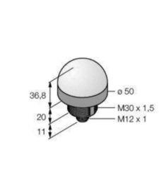 CONTROL CIRCUIT DEVICES COMBINATION IN ENCLOSURE Banner K50LGRBPQ 3078986