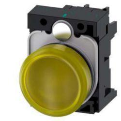 Indicator light complete Siemens 3SU1102-6AA30-1AA0 3SU11026AA301AA0