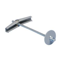MTSB Spring Toggle with Nut/Washer, M4 Rod