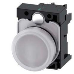 Indicator light complete Siemens 3SU1102-6AA60-1AA0 3SU11026AA601AA0