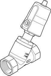 ANGLED SEAT VALVE Festo VZXF-L-M22C-M-A-G114-310-M1-V4V4T-50-9