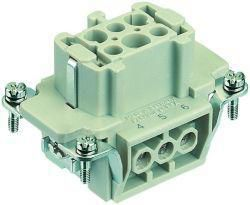 Contact insert for industrial connectors Harting 09.33.006.2701 09330062701