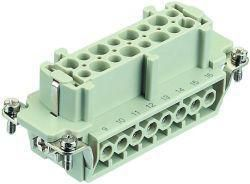 Contact insert for industrial connectors Harting 09.33.016.2701 09330162701