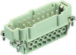 Contact insert for industrial connectors Harting 09.33.016.2601 09330162601