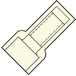 EINDVERBINDER 2,5MM˛ L15,2 TRANSPARANT