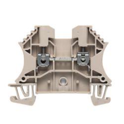 Durchgangs-Reihenklemme, Schraubanschluss, 2.5 mm², 800 V, 24 A, Anzahl Anschlüsse: 2