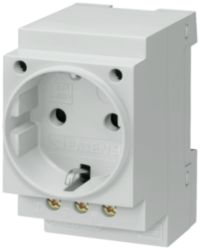SCHUKO socket outlet 16 A according to DIN VDE 0620 for installation i