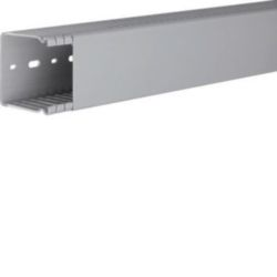 BA6, bedradingskanaal + deksel 60x60 mm, grijs