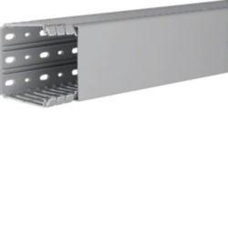 BA7, bedradingskanaal + deksel 80x80 mm, grijs