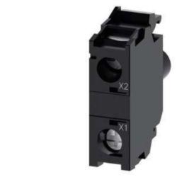 Lamp holder block for control circuit devices Siemens 3SU1401-1BB50-1AA0 3SU14011BB501AA0