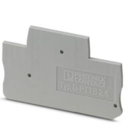 Endplate and partition plate for terminal block Phoenix D-PTTB 2,5 3211634