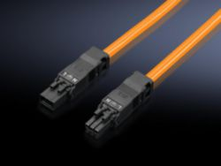 Anschlussleitung für Durchgangsverdrahtung, 3-polig, 100-240 V, L: 1000 mm, UL