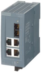 SCALANCE XB004-1 unmanaged Industrial Ethernet Switch for 10/100 Mbit/