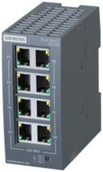 SCALANCE XB008 Unmanaged Industrial Ethernet Switch for 10/100 Mbit/s