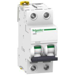 Miniature circuit breaker (MCB) Schneider Electric IC60N 2P C4 A9F74204