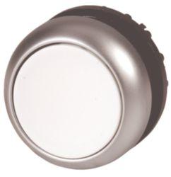 Leuchtdrucktaste, flach, weiß, tastend