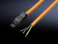 Anschlussleitung für Einspeisung, 3-polig, 100-240 V, L: 3000 mm, UL