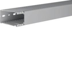BA6, bedradingskanaal + deksel 80x40 mm, grijs