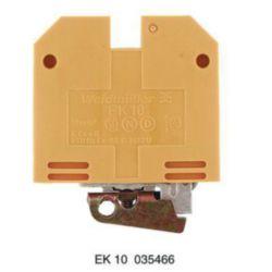 GROUND TERMINAL BLOCK Weidmuller EK 10